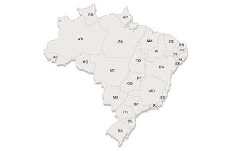 mapa eleitoral 2014 Foto: Arte Terra