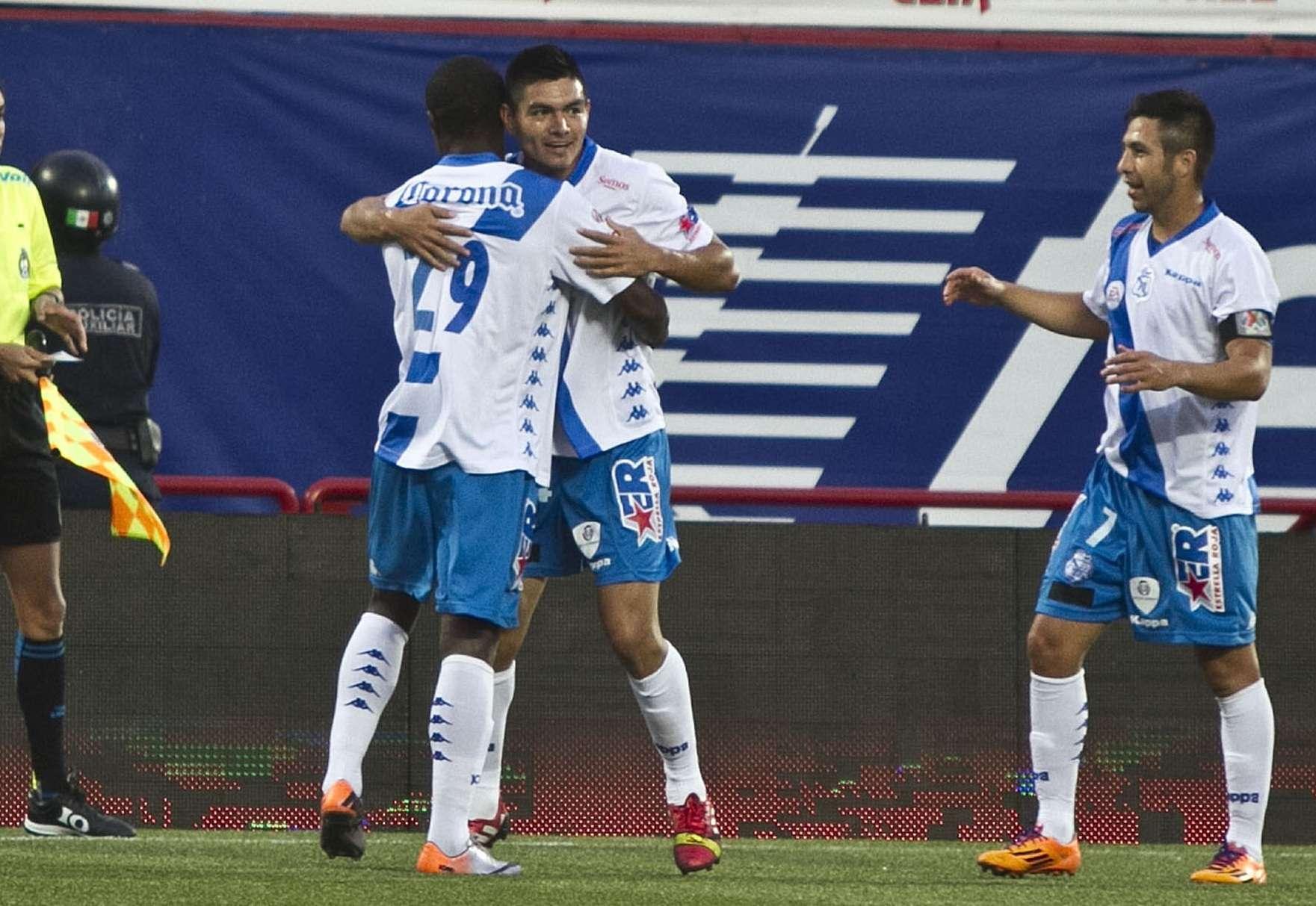Luis Loroña marcó el gol del triunfo de Puebla 1-0 sobre Xolos de Tijuana. Foto: Mexsport