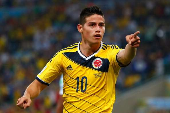 James Rodriguez volley named top World Cup goal
