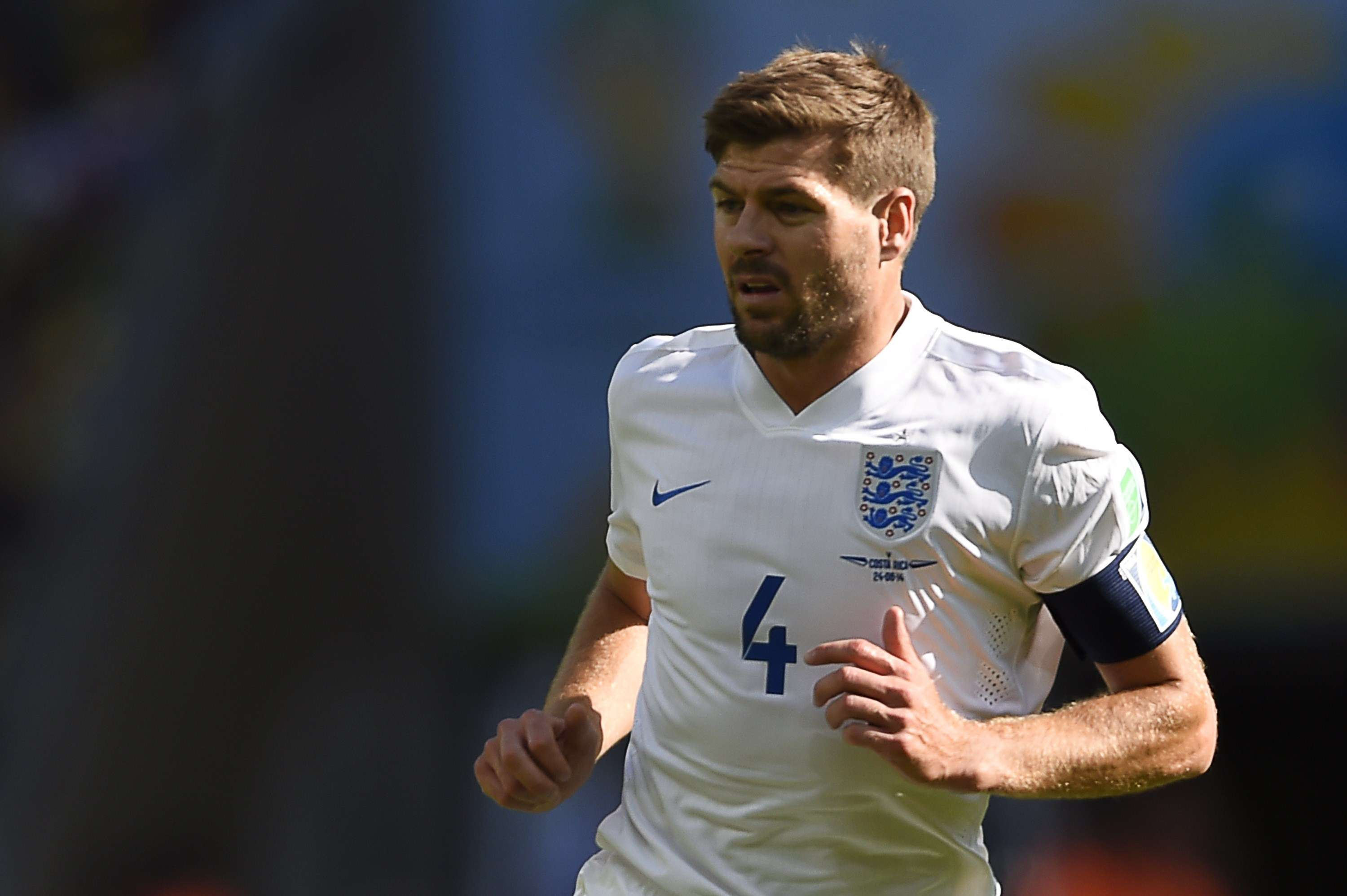 Gerrard retires from international soccer