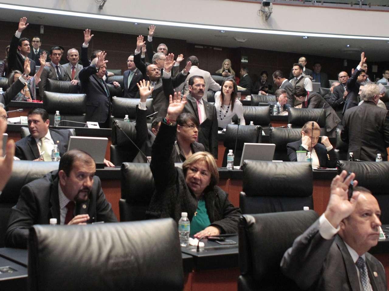 Pleno del Senado de la República Foto: Notimex /archivo