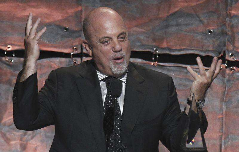 Singer Billy Joel to be honored with U.S. Gershwin Prize