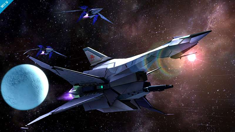 Super Smash Bros. para Wii U terá nave de Star Fox