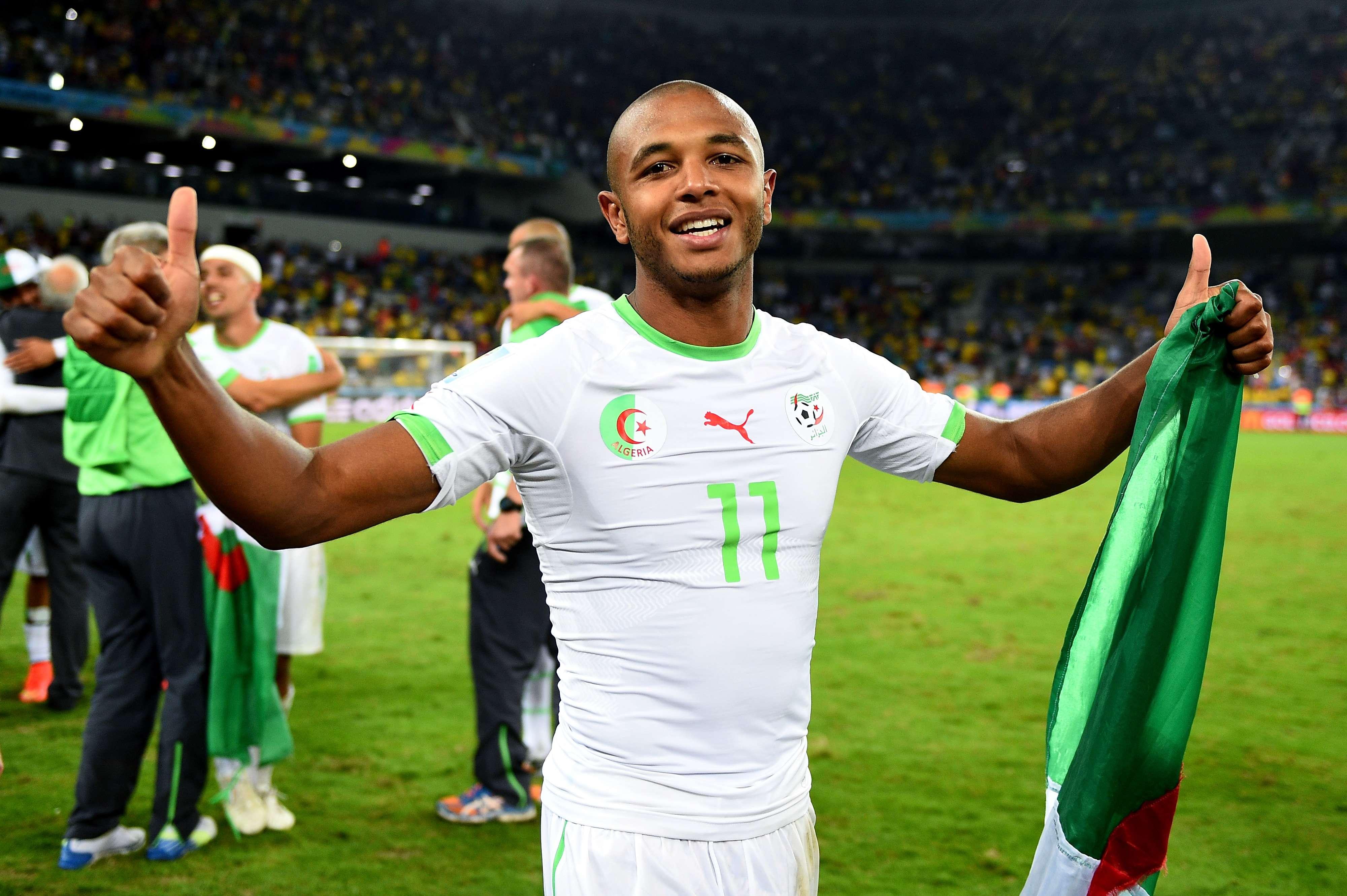 Brahimi, durante el Mundial de Brasil. Foto: Getty Images