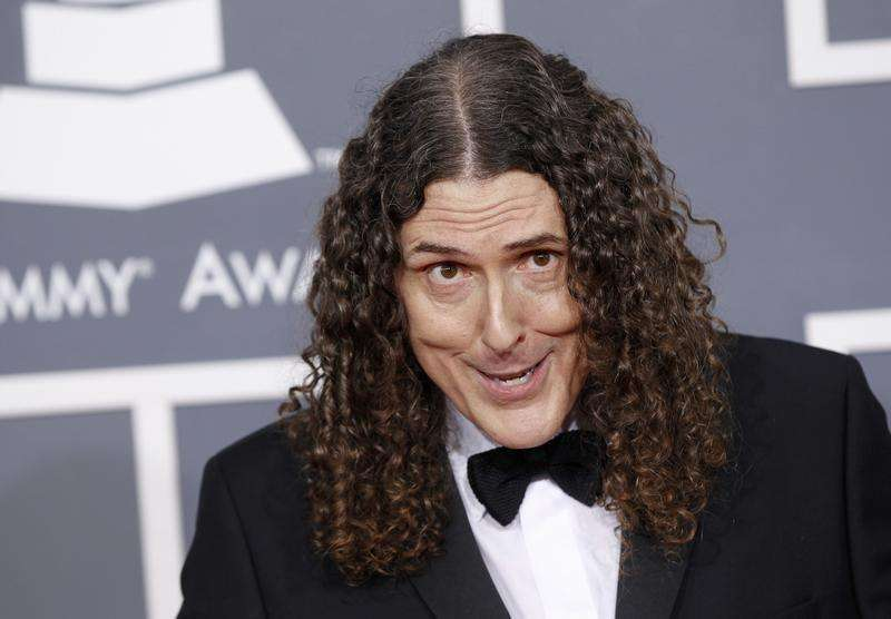 'Weird Al' Yankovic parodies his way to top of Billboard...