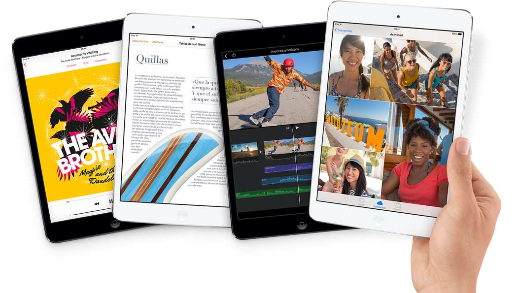 iPad Mini con Retina www.apple.com