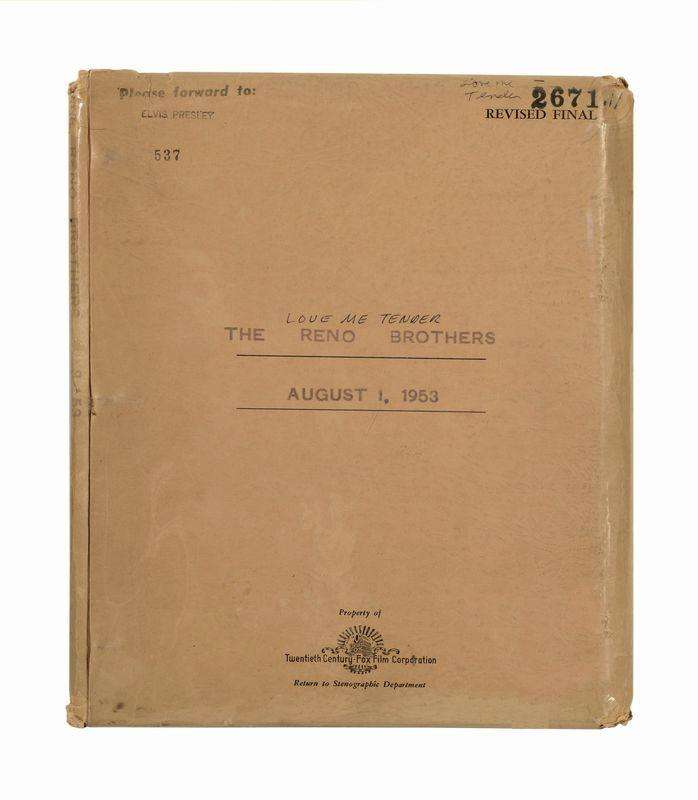 Elvis' library card, movie script to be auctioned at ...