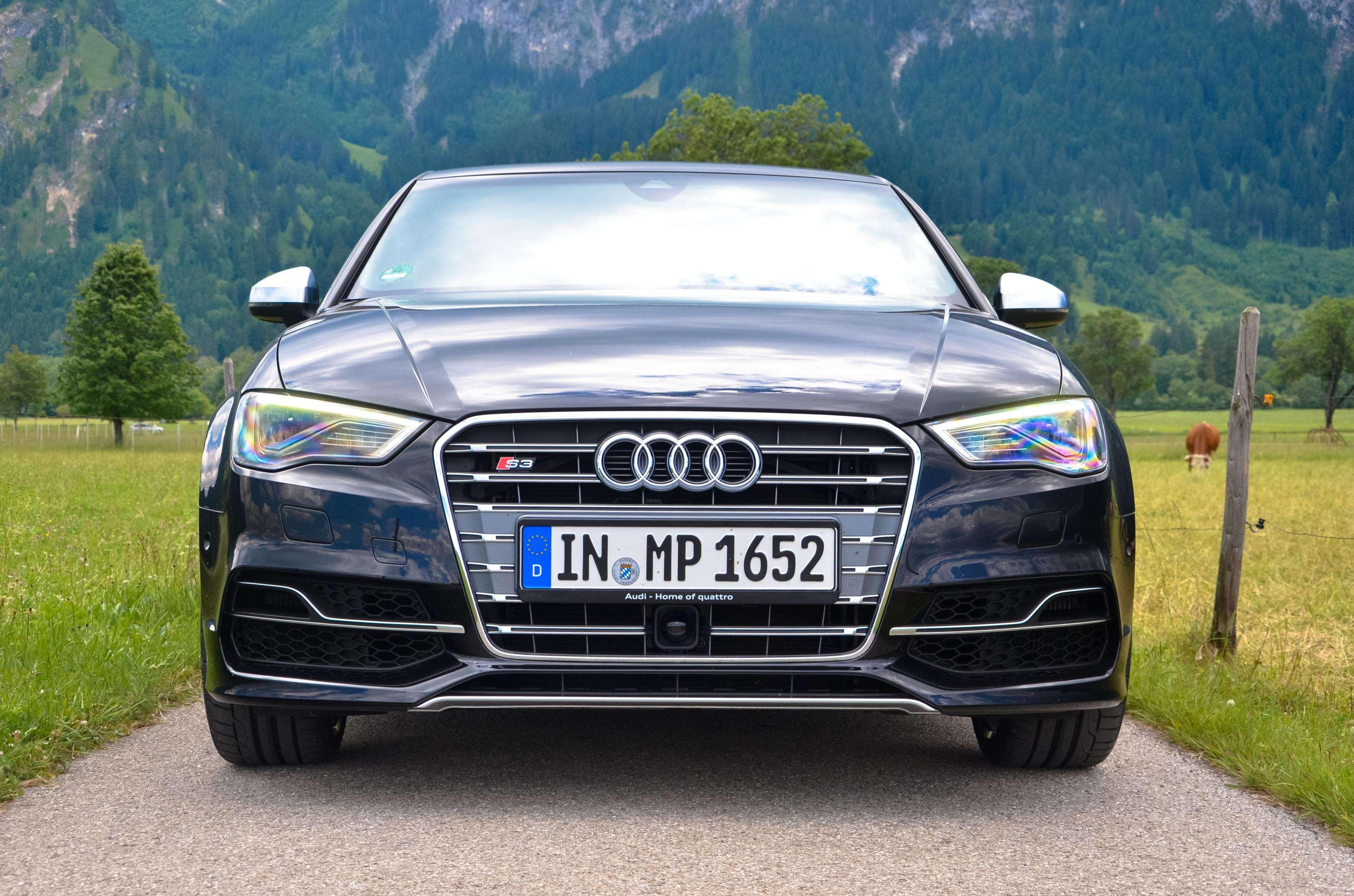 Audi S3 Sedan Foto: Peter Fussy/Terra