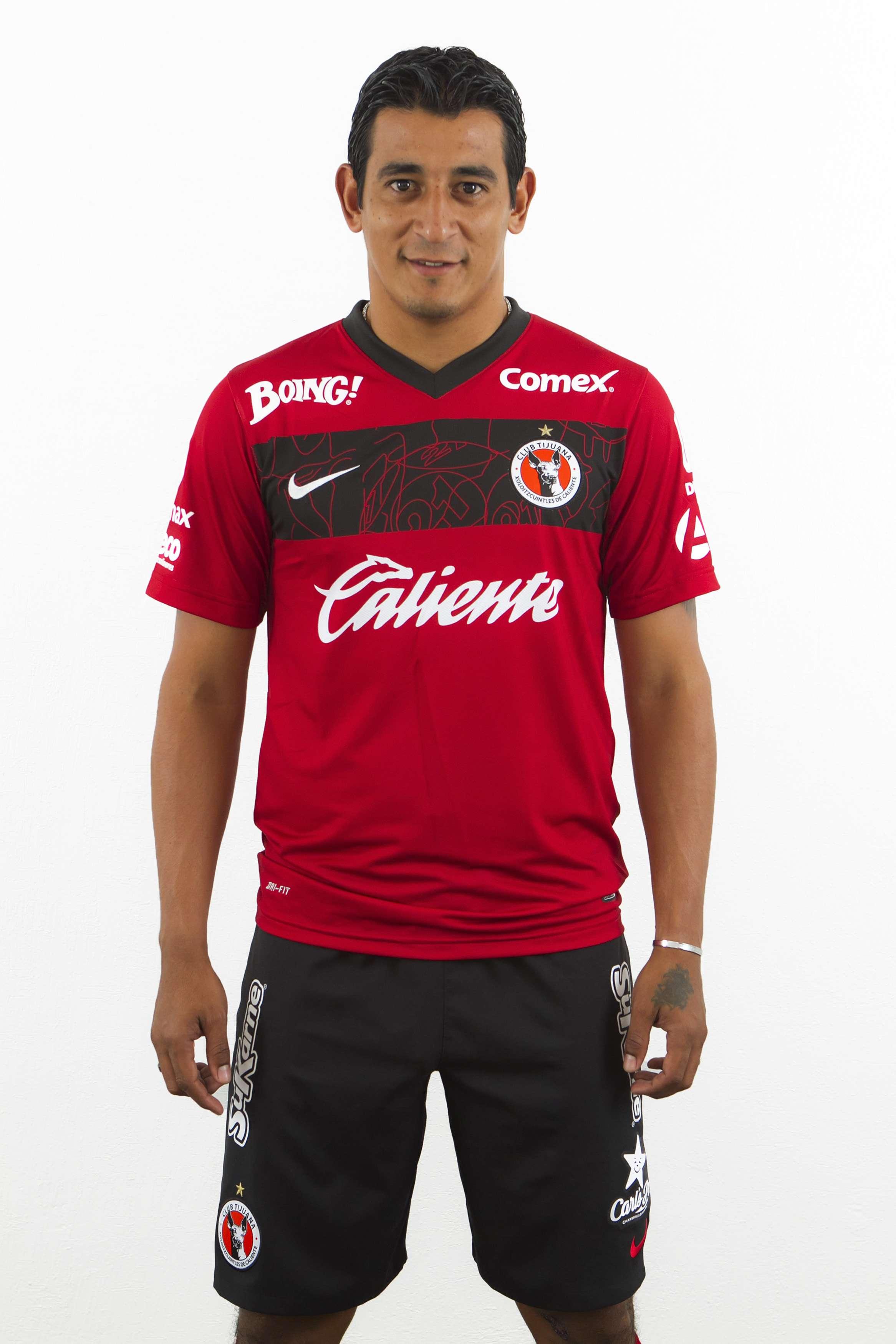 Alfredo Moreno, delantero de los Xolos de Tijuana, un veterano ya del futbol mexicano. Foto: Mexsport