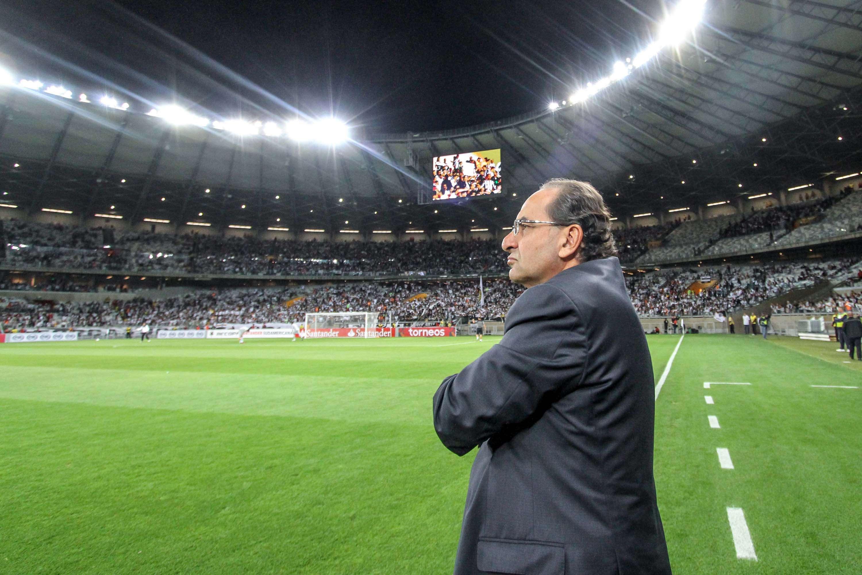 Presidente Alexandre Kalil esteve presente em jogo no Mineirão Foto: Bruno Cantini/Atlético-MG/Divulgação