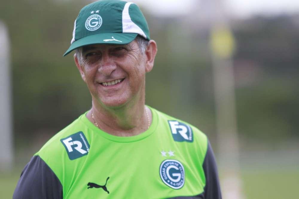 Ricardo Drubscky espera jogo difícil contra o São Paulo de Kaká Foto: Rosiron Rodrigues/Goiás EC/Divulgação/Divulgação