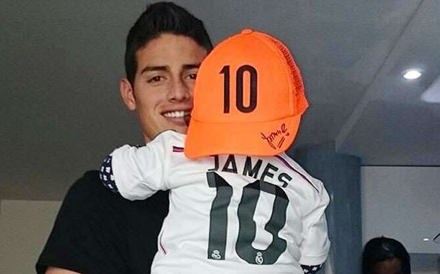 Foto: Instagram - James Rodríguez
