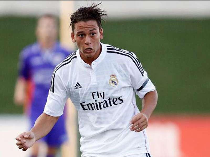 Cristian Benavente jugó solo 8 partidos con el Real Madrid Castilla en la temporada 2013-14. Foto: Real Madrid