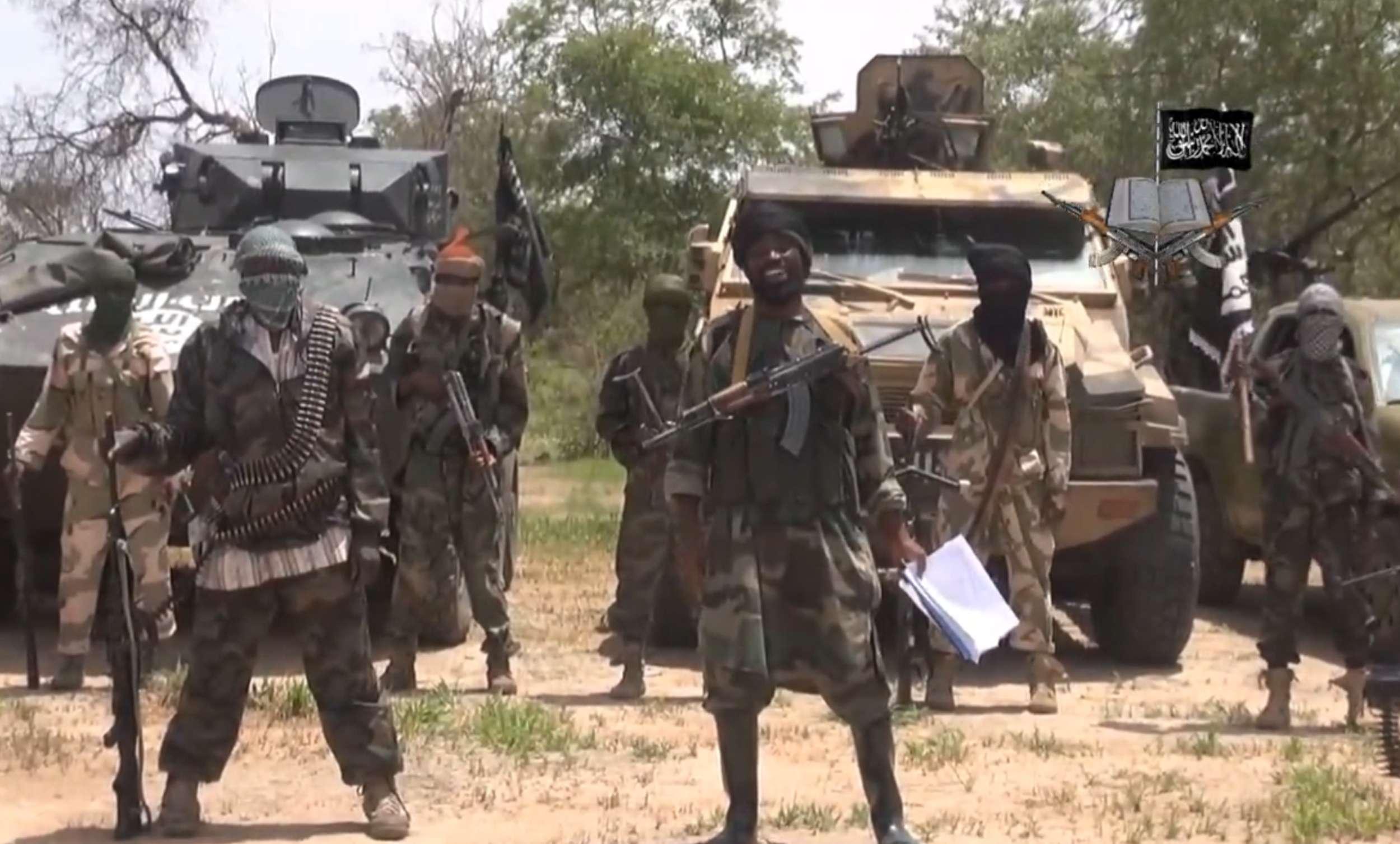 Rebeldes de Boko Haram Foto: AFP/Archivo