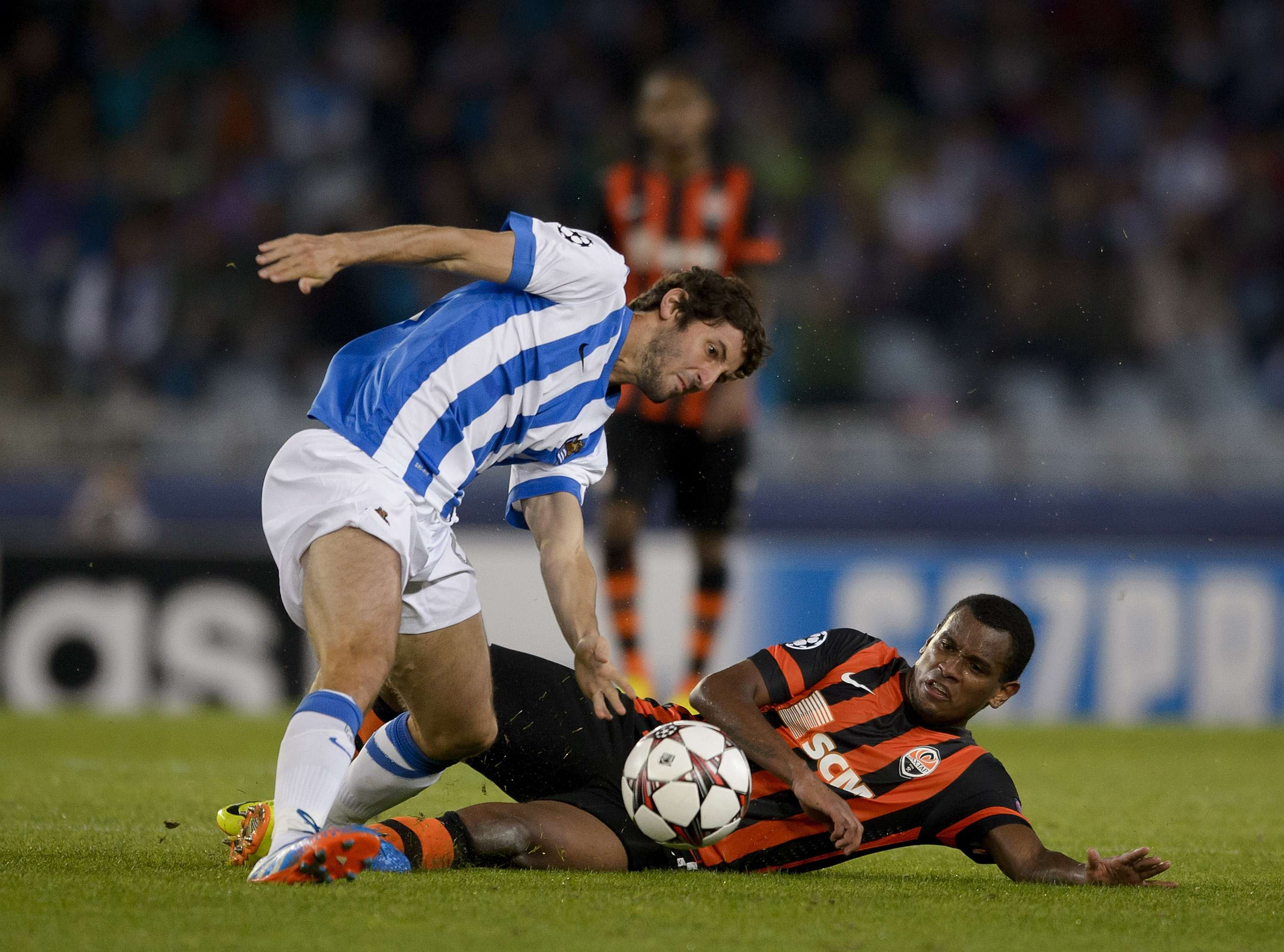 Esteban Granero, con la Real Sociedad. Foto: Getty Images