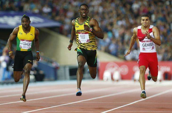 Golden boy Bailey-Cole steps out of Bolt's shadow