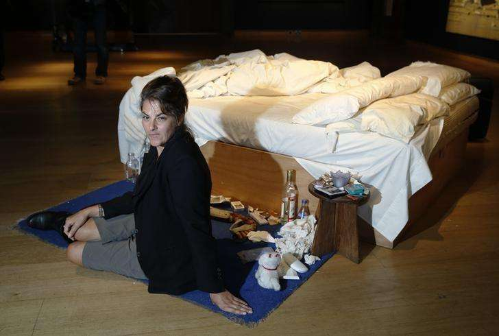 Artist Emin's grotty 'My Bed' to have long-term home in ...