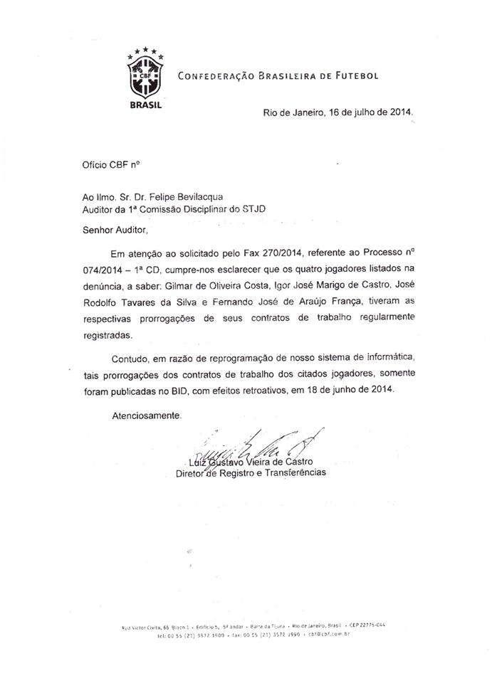Brasília FC/Facebook
