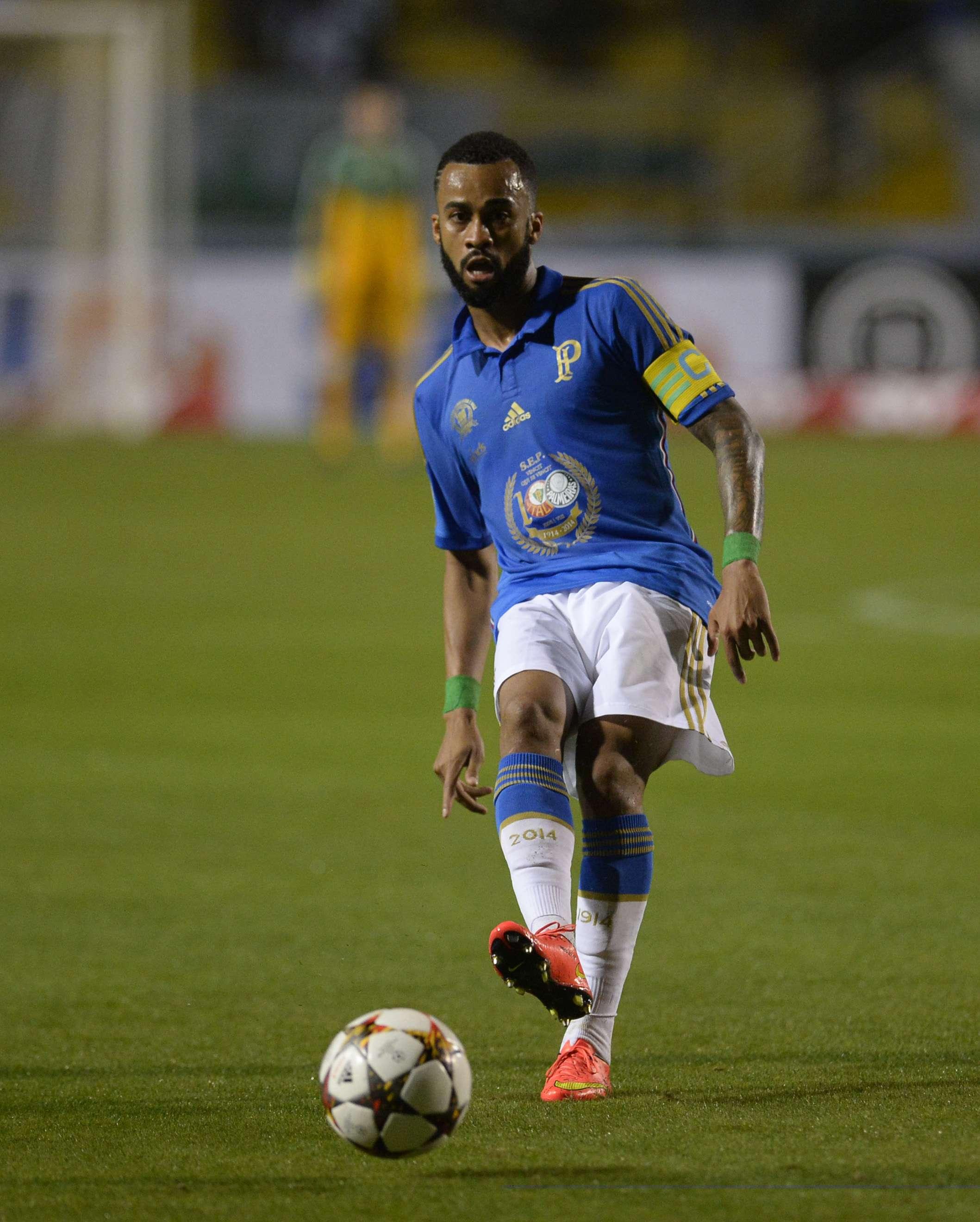 Wesley foi titular e capitão do Palmeiras mais uma vez Foto: Alan Morici/Terra