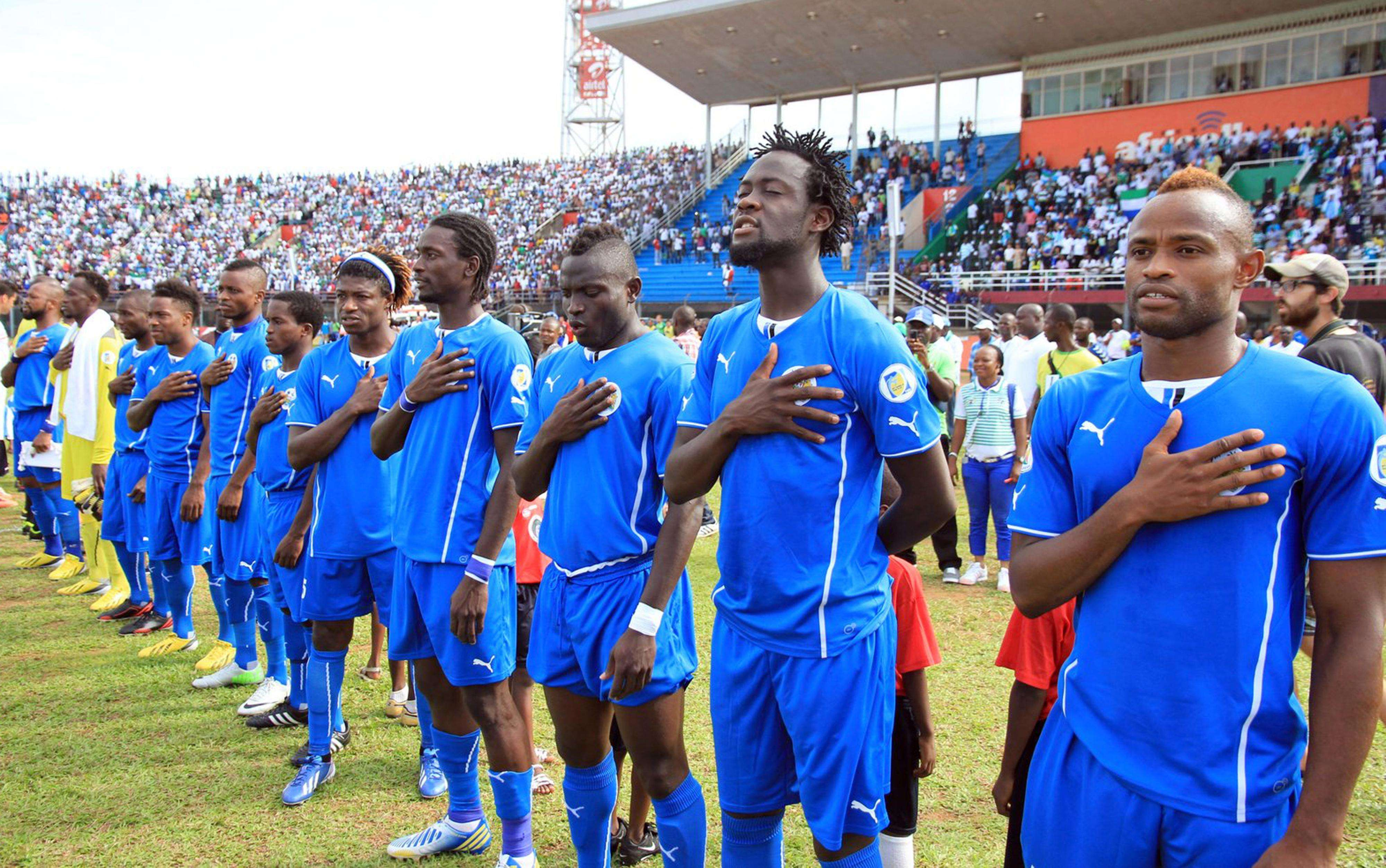 Sierra Leone players ordered not to travel over Ebola virus