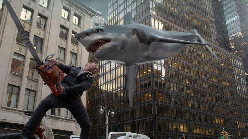 'Sharknado 2' creates feeding frenzy on Twitter, record ...