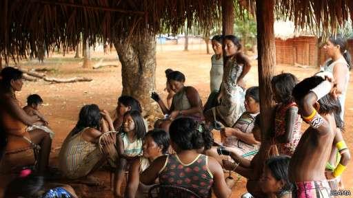 Garimpeiros avançam por territórios habitados pelo povo kayapó e assediam os índios Foto: Ibama/Divulgação