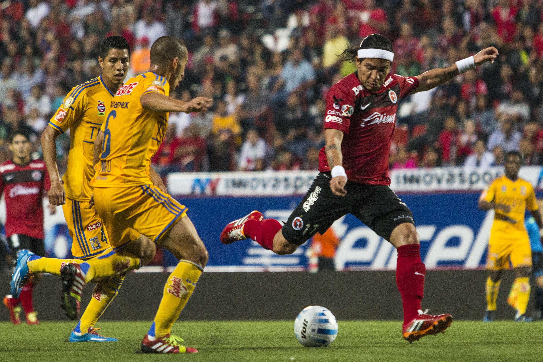 Xolos y Tigres igualaron en el Estadio Caliente en la jornada 3 del Apertura 2014. Foto: Imago 7