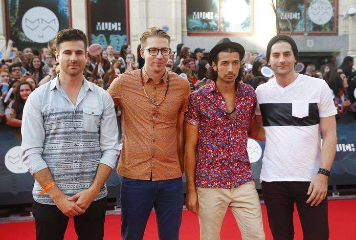 Canada's Magic! tops British music chart with debut single