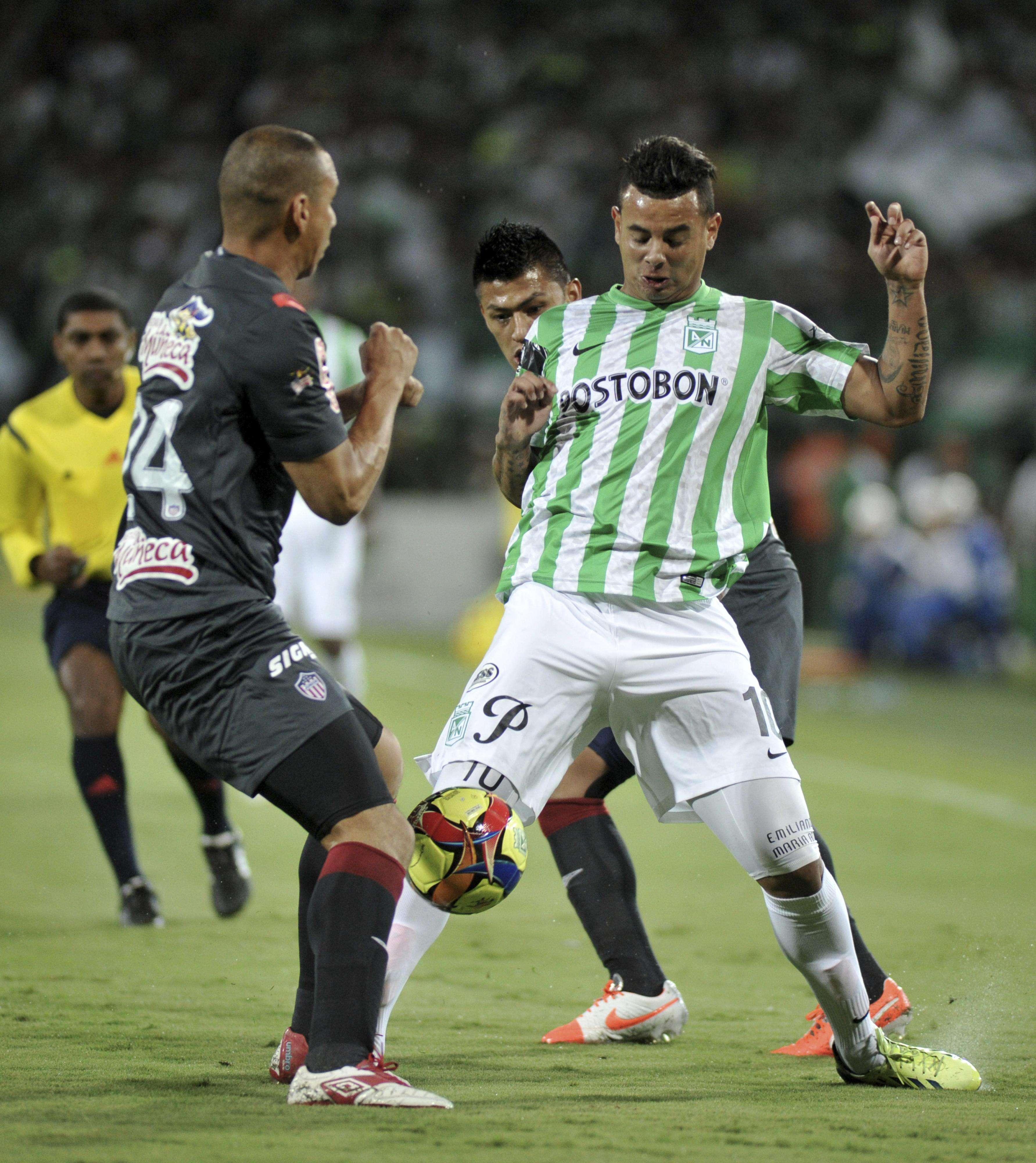 Edwin Cardona, mediocampista de Atlético Nacional Foto: Getty Images