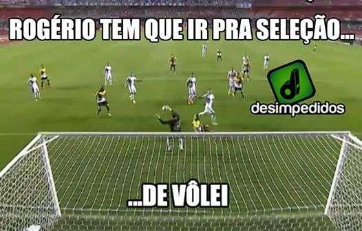 Rivais sugerem vôlei a Rogério Ceni; veja memes da rodada