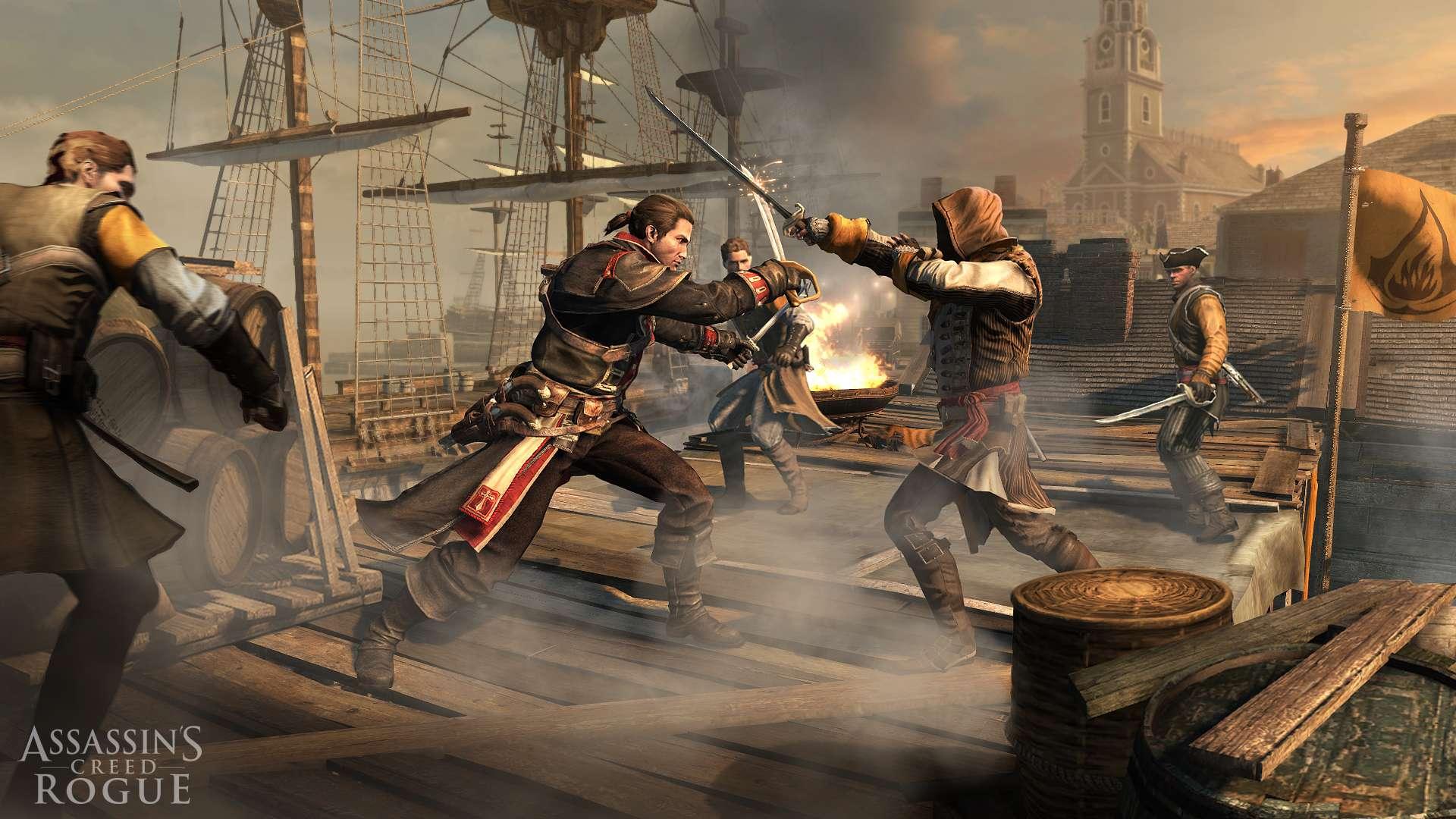 Assassin's Creed: Rogue é confirmado para PS3 e Xbox 360
