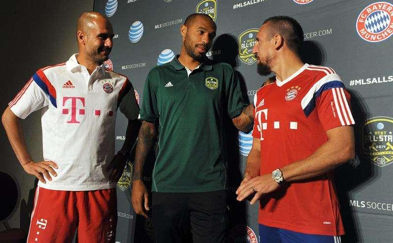 Henry cree que Müller es mejor que Cristiano Ronaldo y Messi