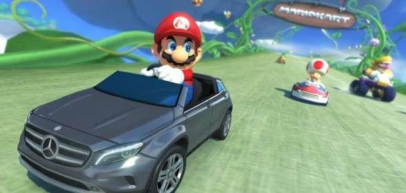 DLC da Mercedes de Mario Kart 8 será lançado nos EUA