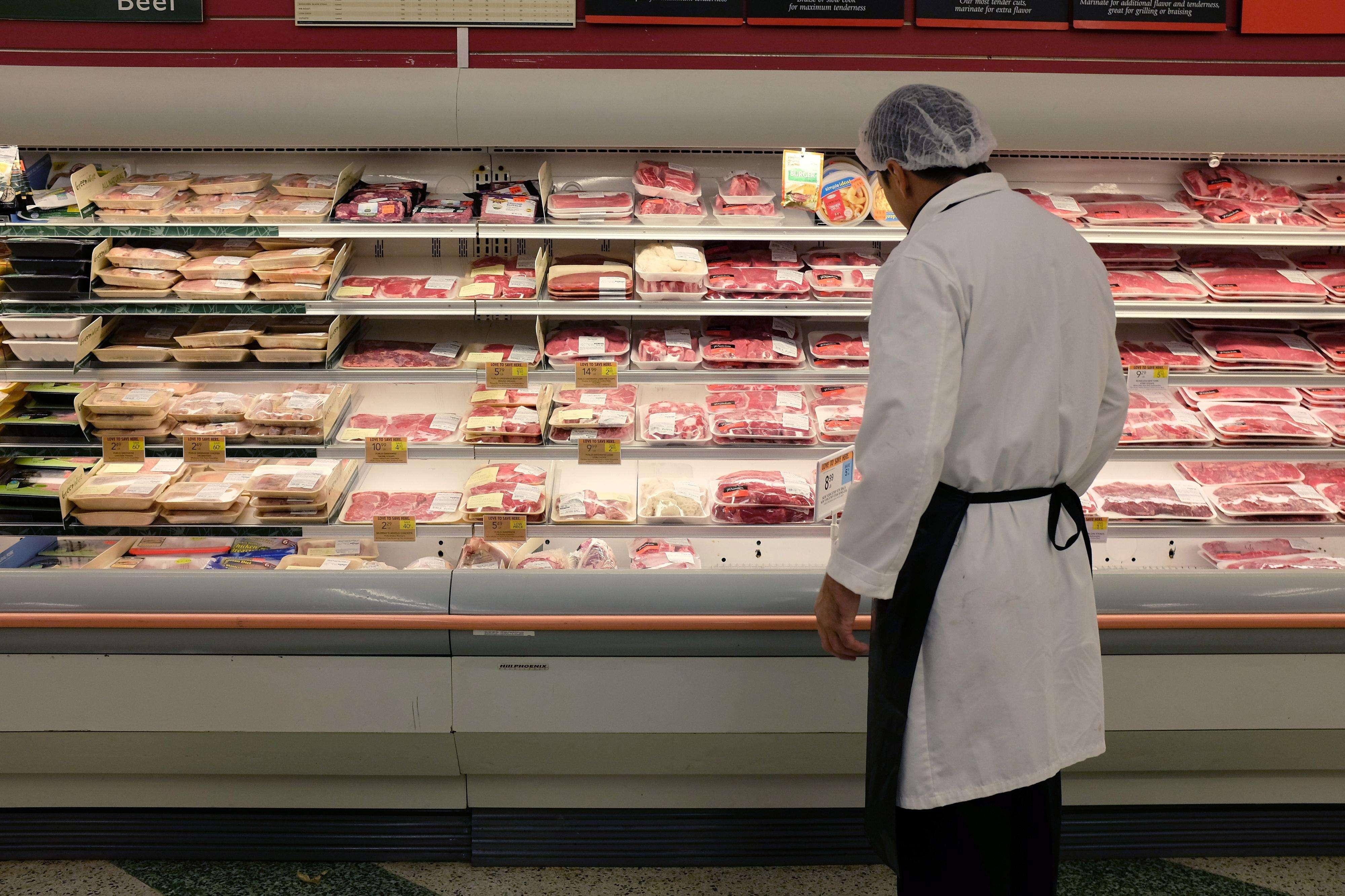 O governo russo proibirá a importação de frutas, vegetais, carnes, peixes e laticínios dos Estados Unidos, União Europeia, Austrália, Canadá e Noruega Foto: Getty Images