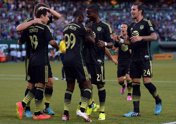 Con asistencia del mexicano Erick 'Cubo' Torres, Bradley Wright-Phillips marcó el tanto del empate en el segundo tiempo. Fue un golazo. Foto: Getty Images