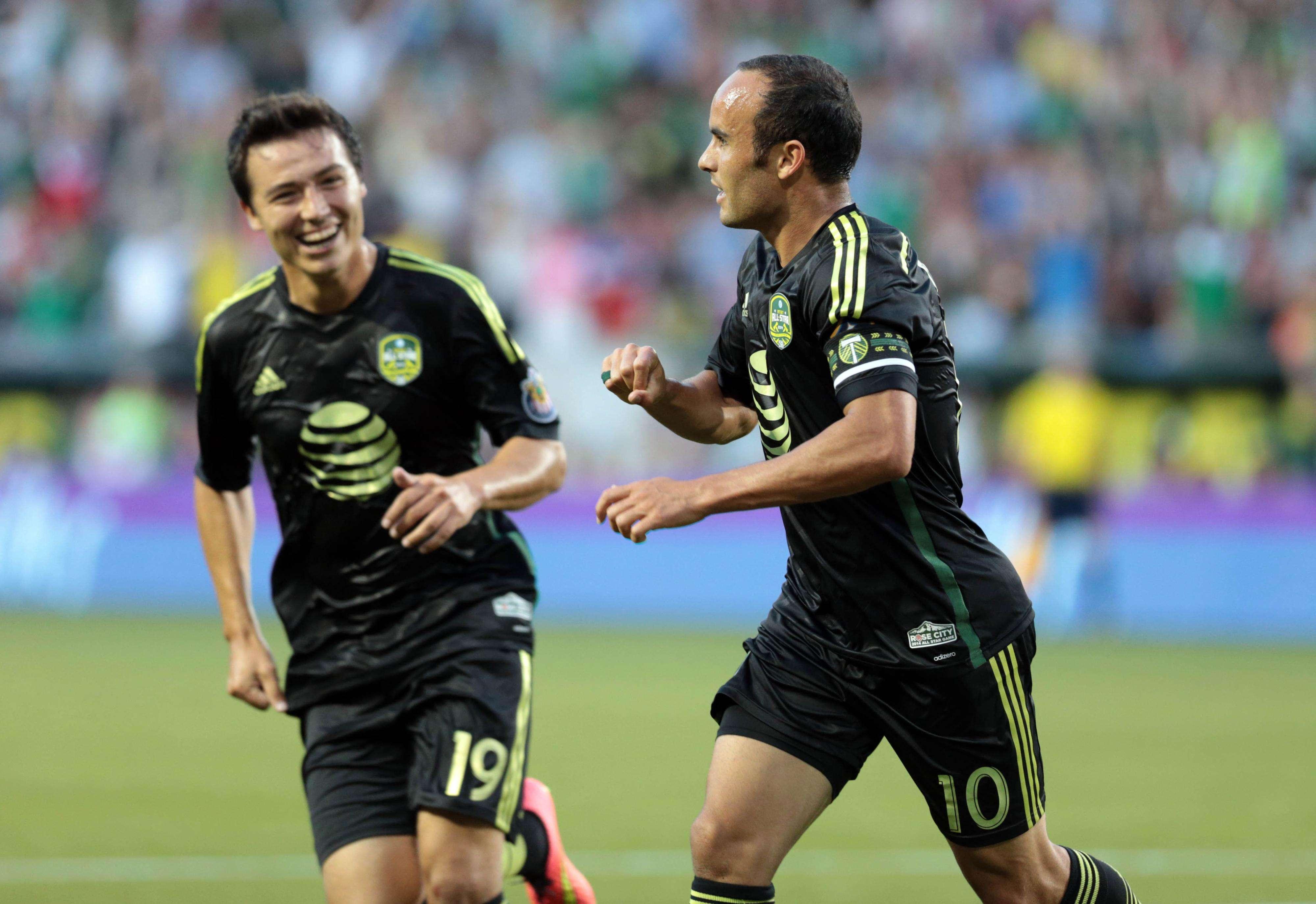 Donovan entró de cambio y fue un revulsivo para el equipo de la MLS. Foto: Reuters