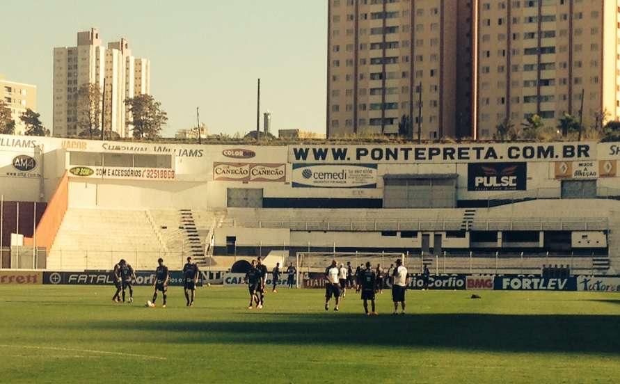 Pressionada, Ponte está indefinida para enfrentar Bragantino