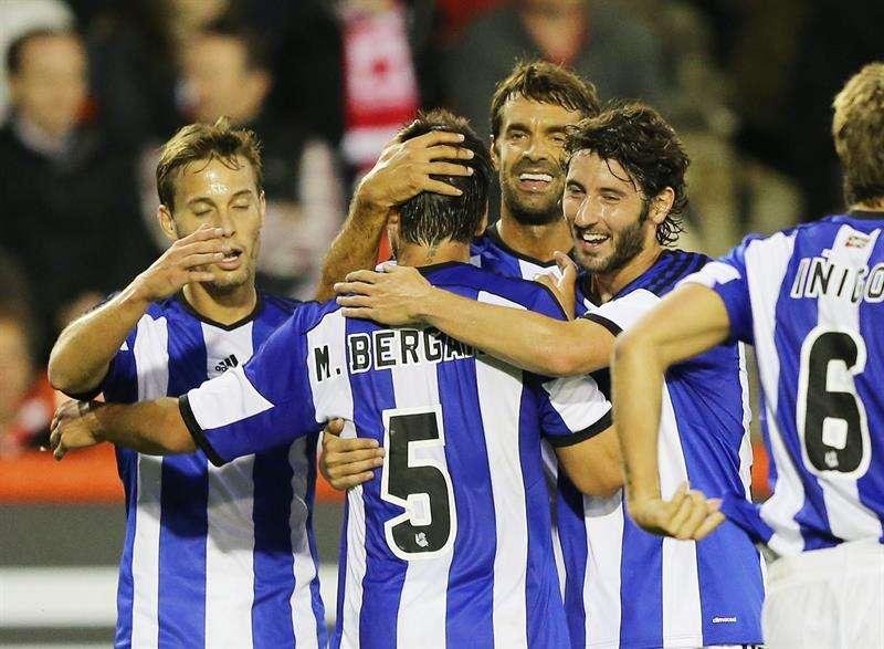 La Real Sociedad ya superó al Aberdeen. Foto: EFE en español
