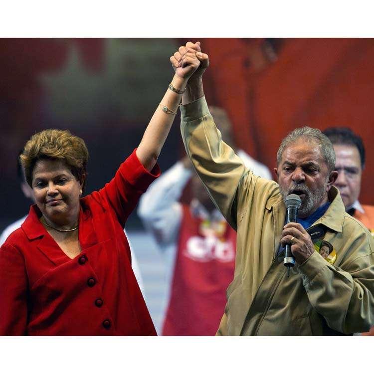 Lula Da Silva apoya reelección de Dilma Rousseff en Brasil Foto: AFP en español