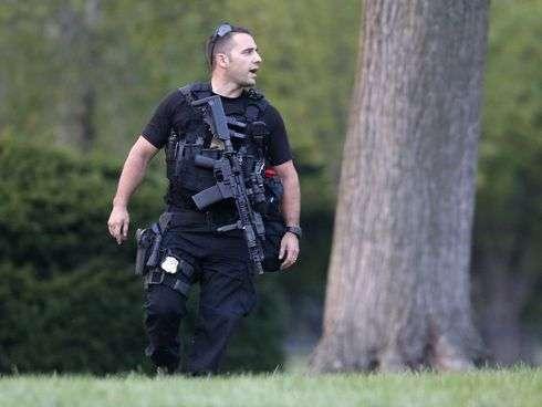 Un miembro del Servicio secreto en la Casa Blanca Foto: AP en español