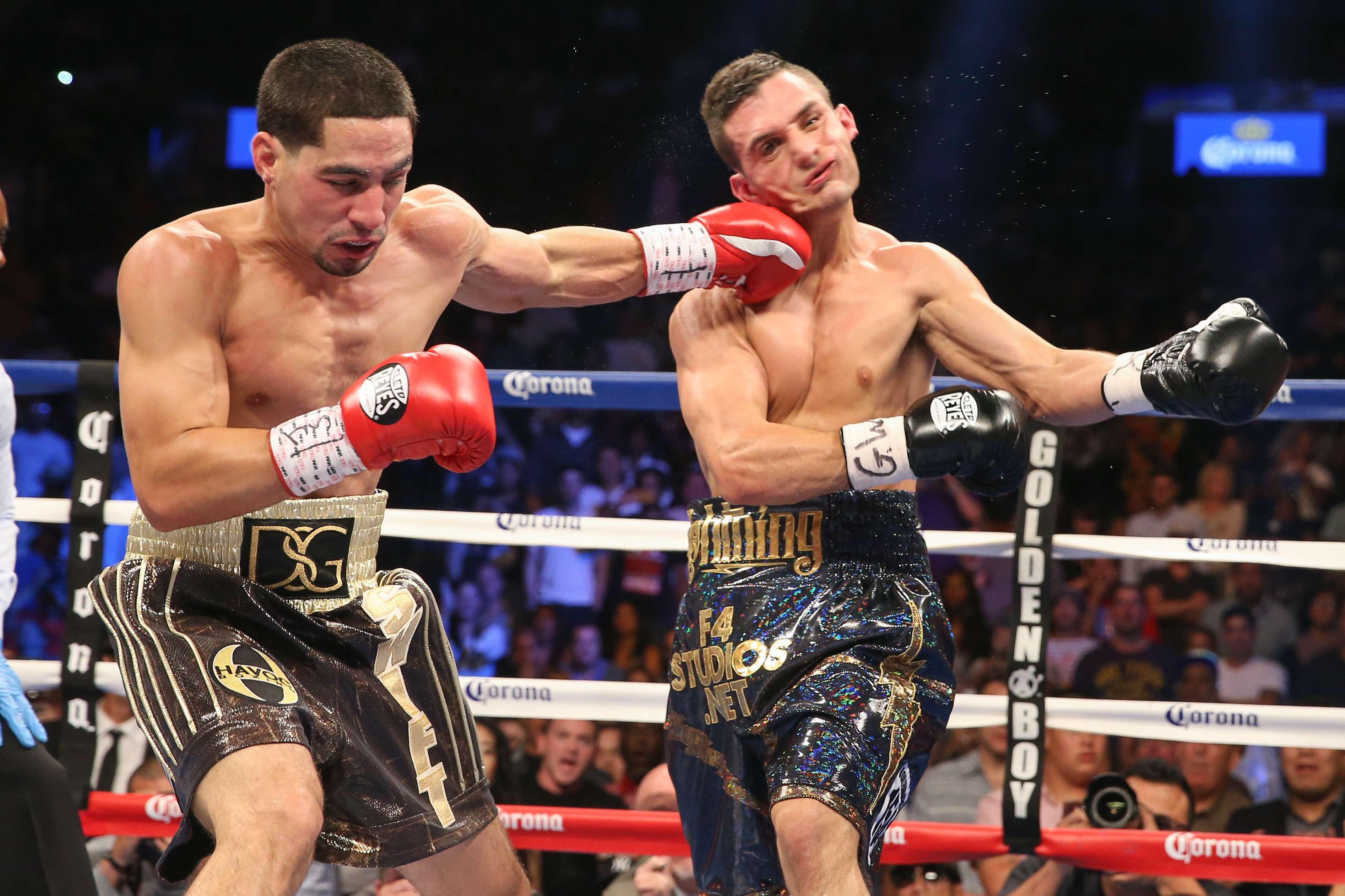 Danny García vence en dos rounds a Rod Salka