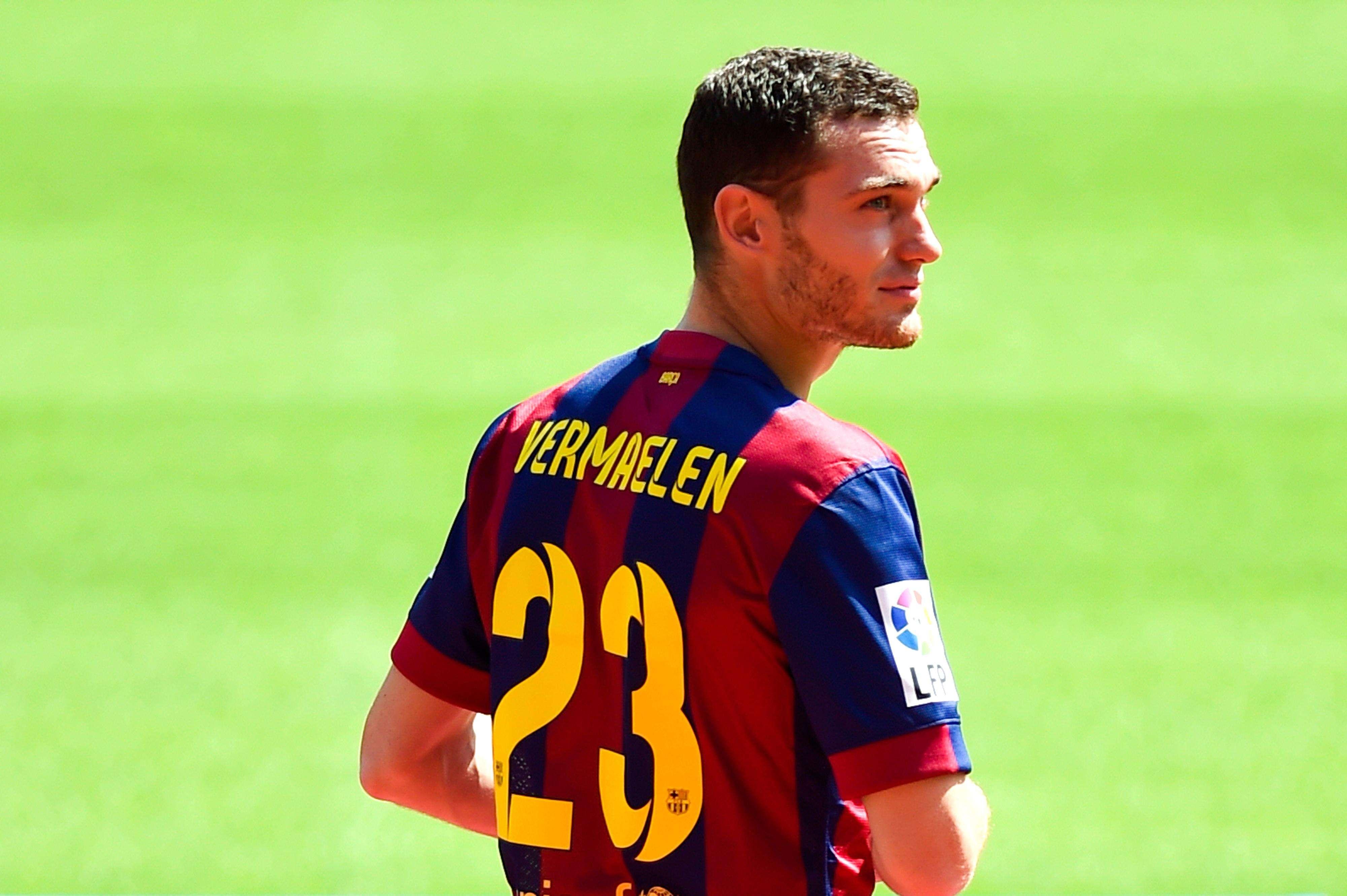 Vermaelen, presentado como nuevo jugador del Barça