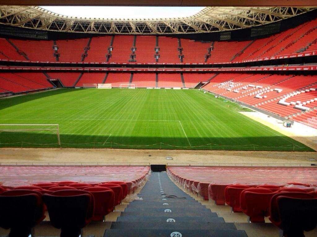 El nuevo San Mamés completo Foto: Twitter: Athletic Club