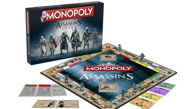 Banco Imobiliário terá versão da série Assassin's Creed
