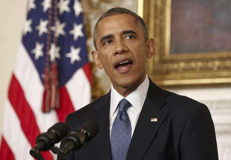 Obama faz declaração sobre Iraque nesta segunda-feira. Foto: Kevin Lamarque/Reuters