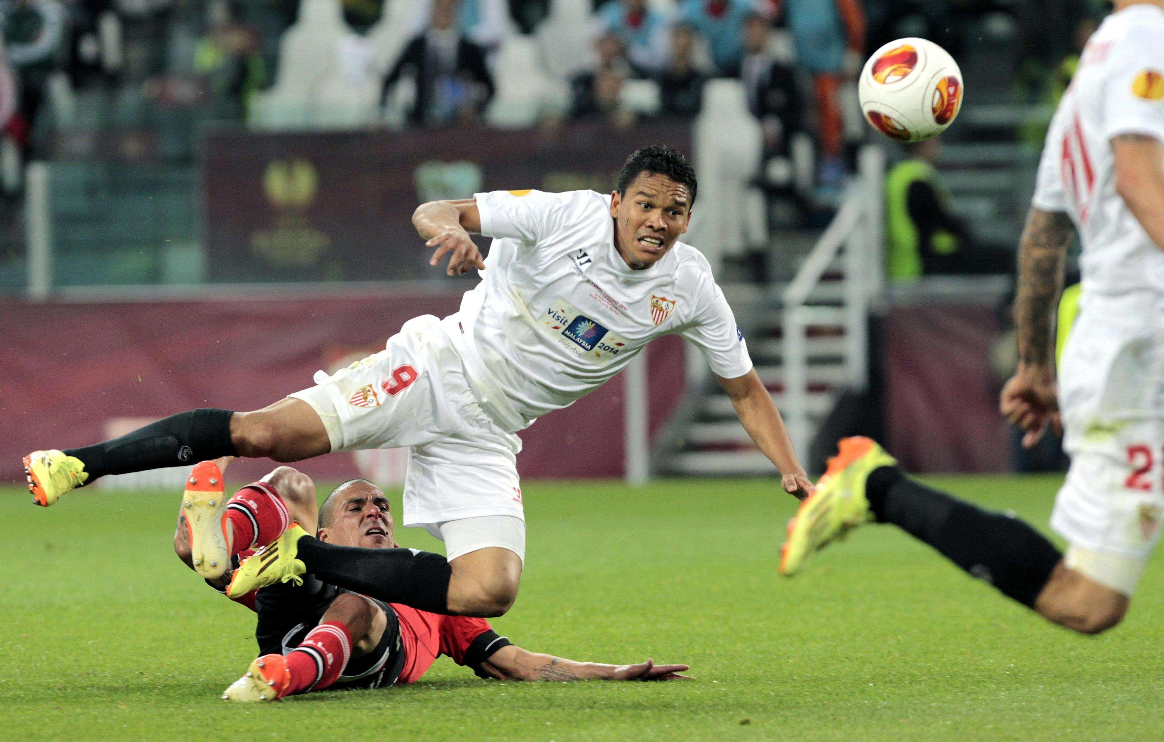 Carlos Bacca, delantero del Sevilla y la Selección Colombia Foto: EFE