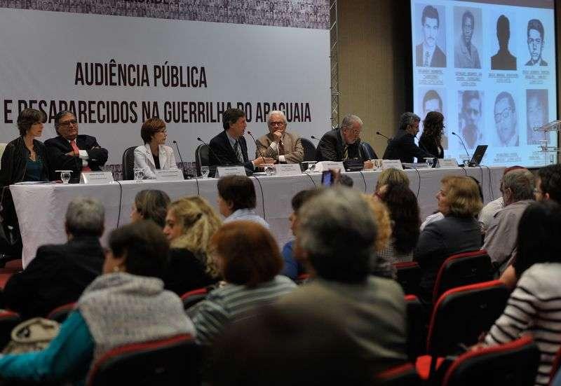 Os quatro militares convidados não compareceram à audiência pública sobre a Guerilha do Araguaia Foto: Antonio Cruz/Agência Brasil