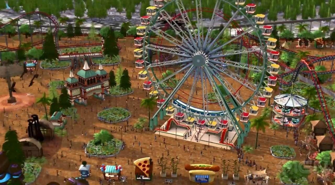 Rollercoaster Tycoon World é anunciado para o início de 2015