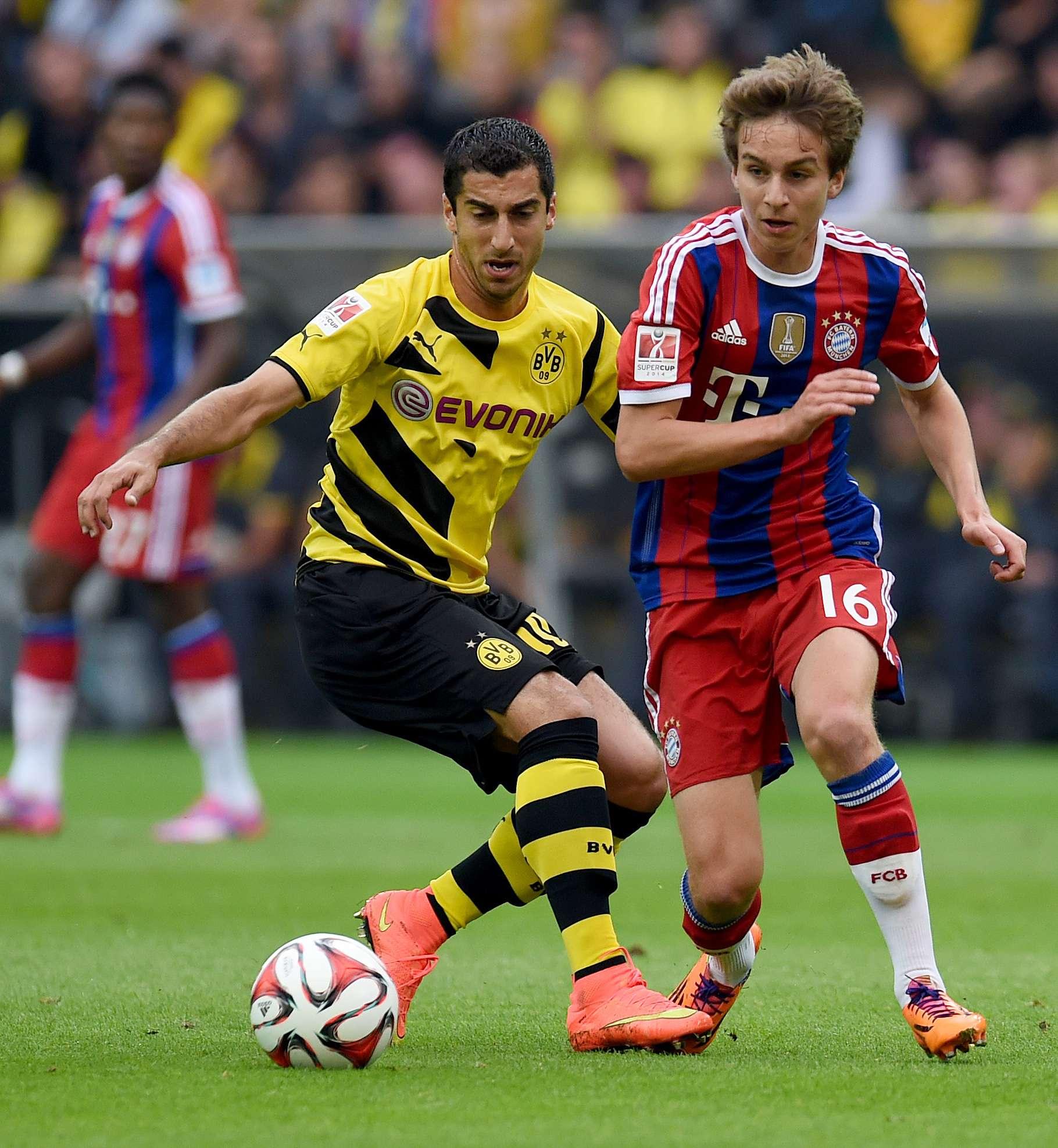 Bayern y Dortmund luchan por la Supercopa de Alemania