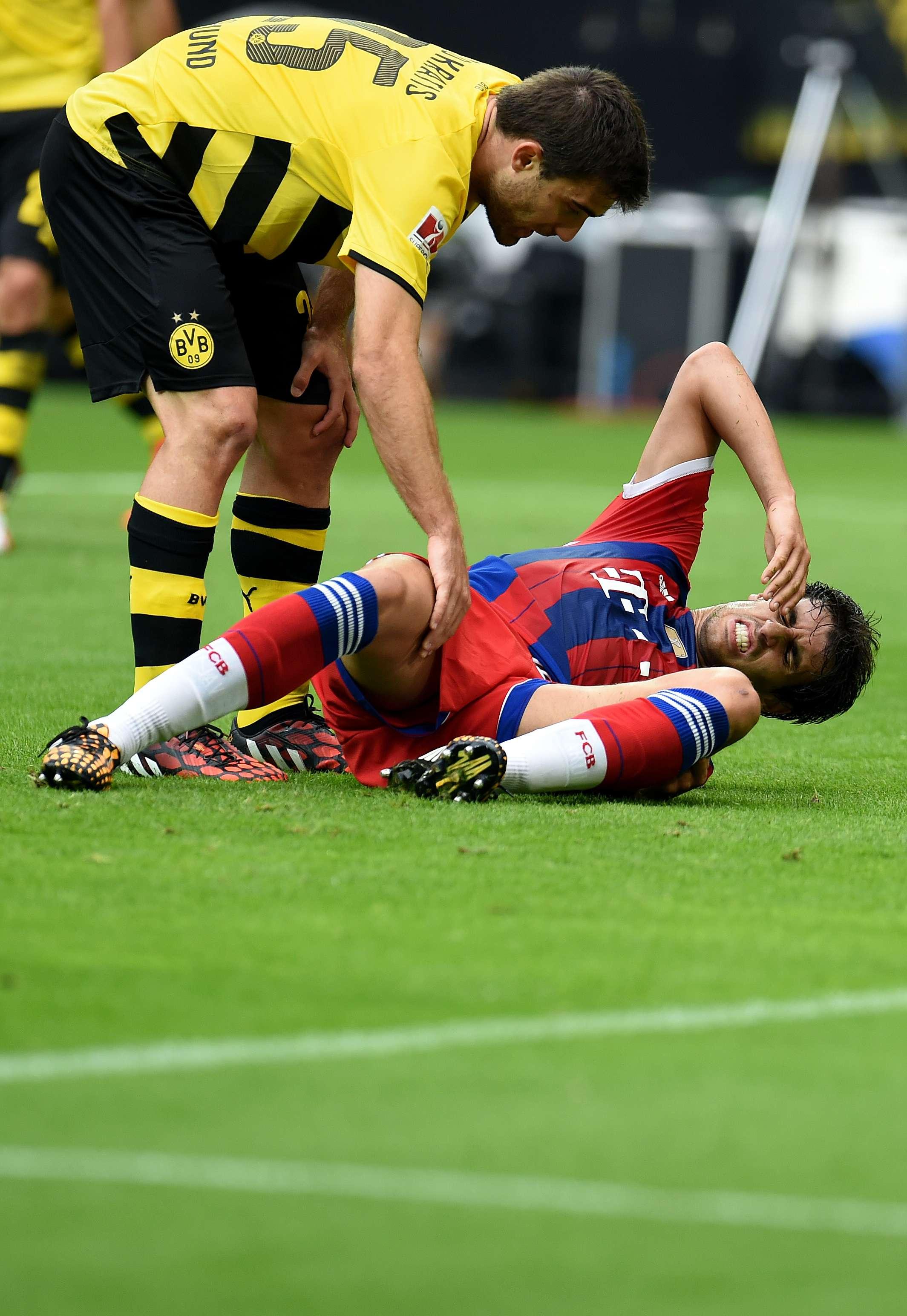 Bayern confirma baja de Javi Martínez por lesión de rodilla
